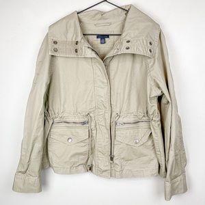 Tommy Hilfiger Canvas Utility Jacket Khaki XL